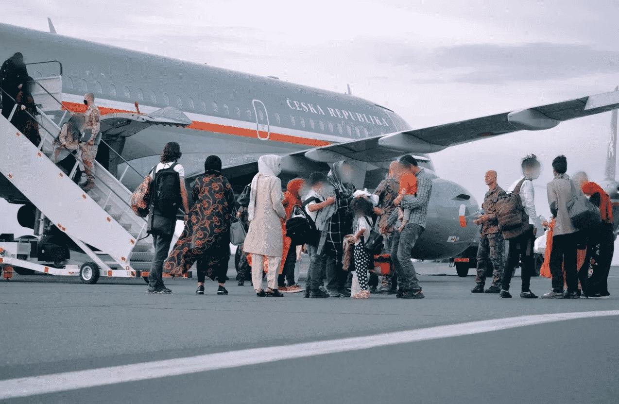 Афганцы в Праге