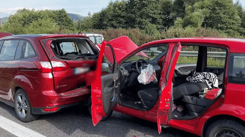 Авария в Бероуне