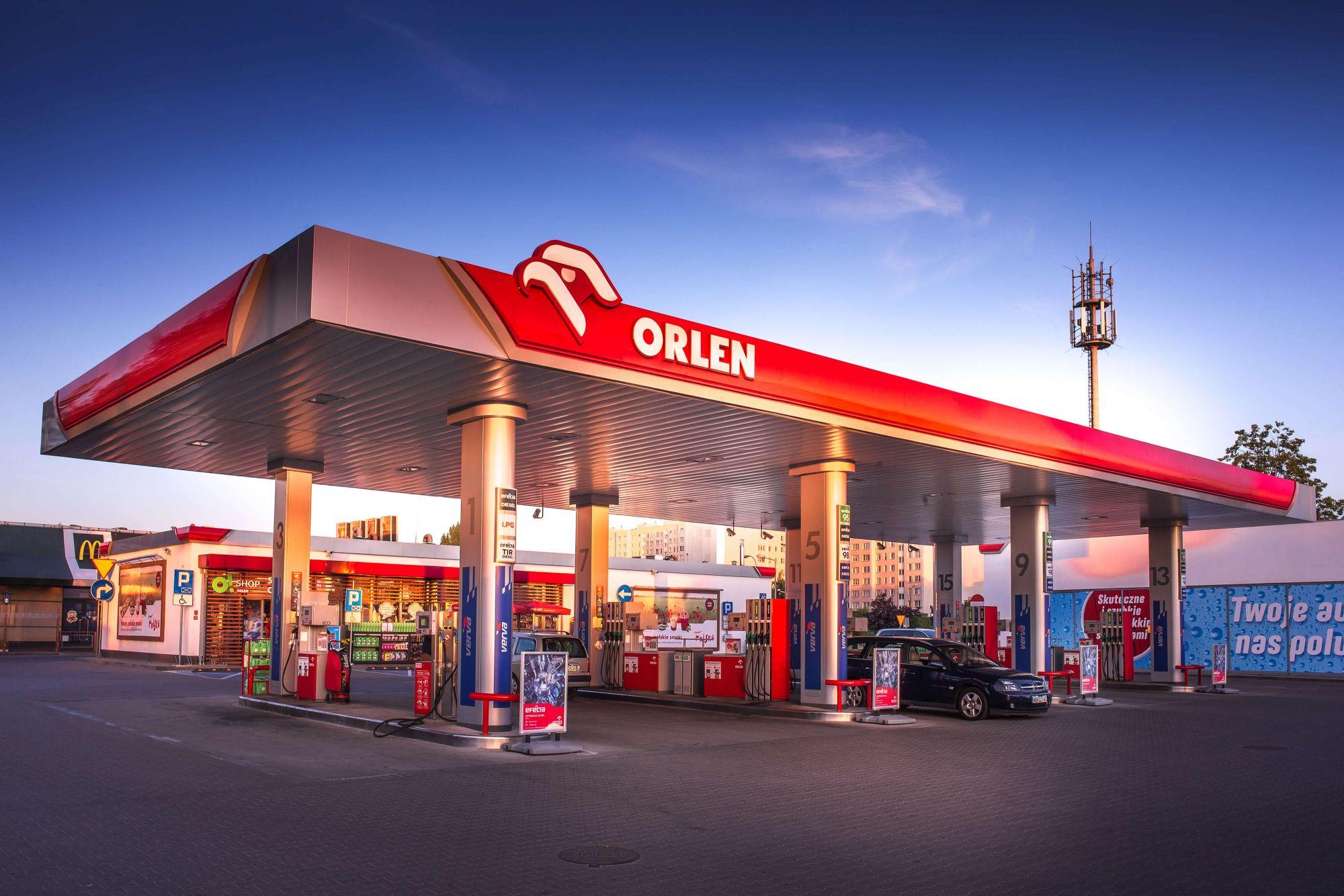 бензин в Чехии